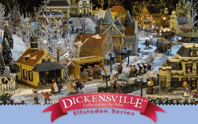 Hoe bouw je een Dickensville Elfstedendorp? Onze tips en tricks.
