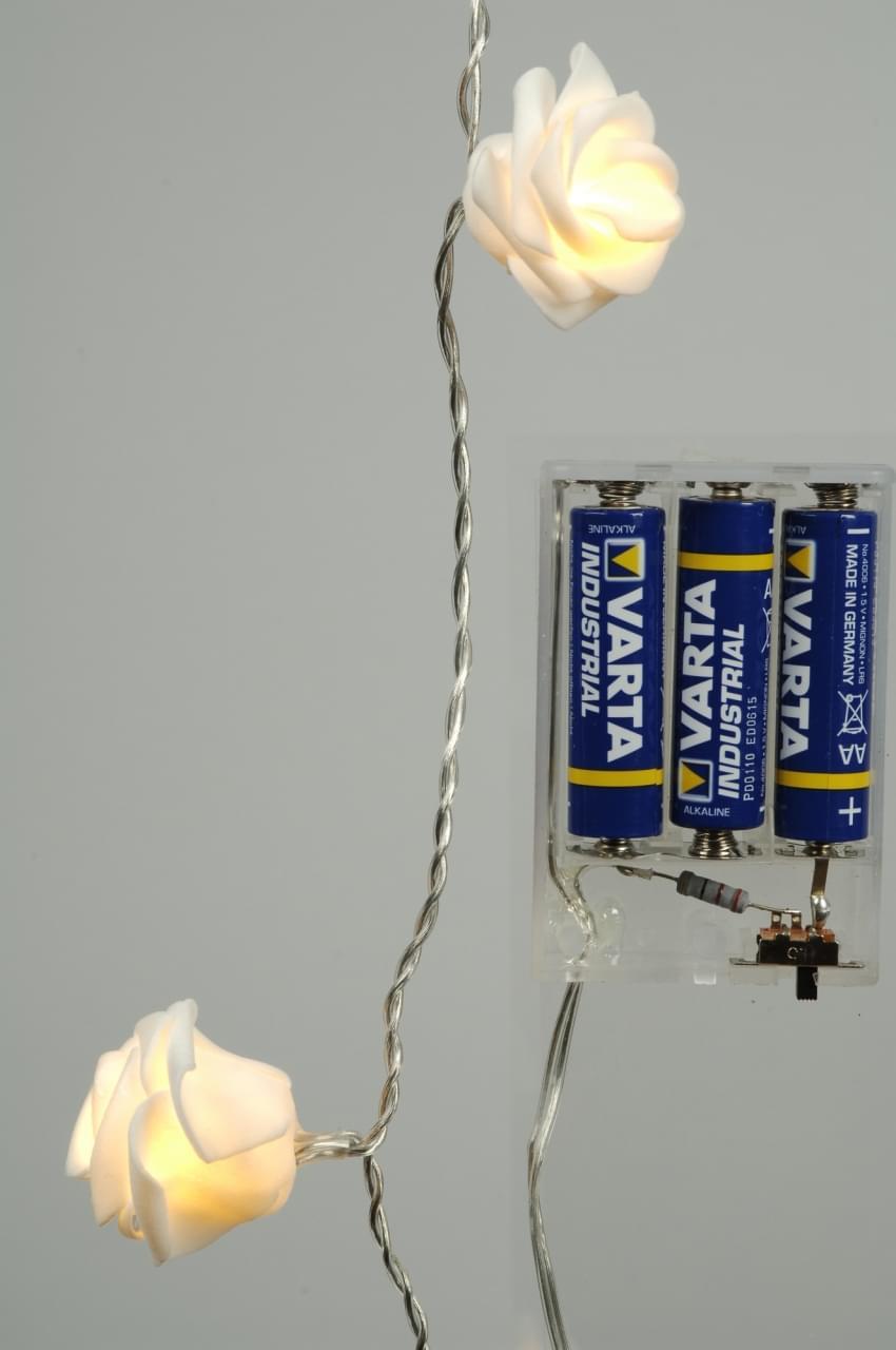 Lumineo LED rozenguirlande