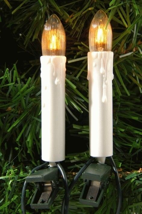 Lumineo Kaarsverlichting Op Clip Kerstverlichting