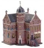Dickensville Kersthuisje Franeker - Martenastins stadskasteel