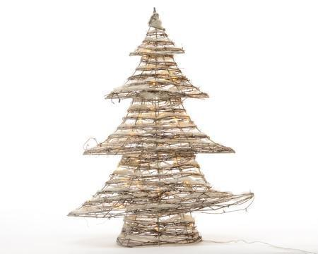 Lumineo LED boom rattan sneeuw