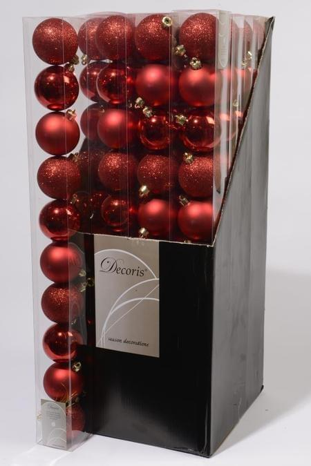 Decoris Kerstbal plastic