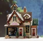 Dickensville Kersthuisje Peter's Hardware