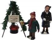 Dickensville Leger des Heils collecte pot kerst