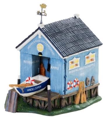Dickensville kersthuisje hindeloopen t blauwe hok - Decoratie eetkamer hok ...