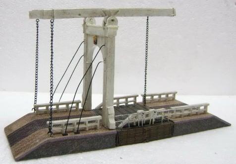 Dickensville Stavoren - Ophaalbrug