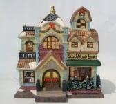 Dickensville Kersthuisje Southwood Books
