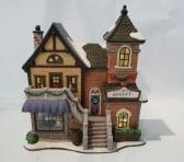 Dickensville Kersthuisje Bakkerij
