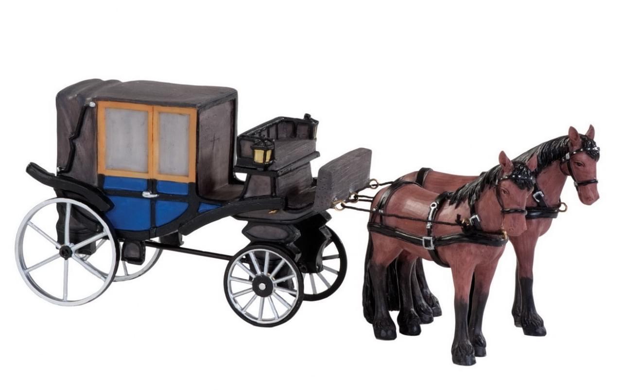 Dickensville Rijtuig met paard