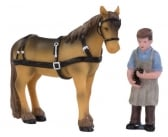 Dickensville Hoefsmid met paard