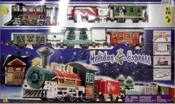 Magic Jollity Trein Holiday Express