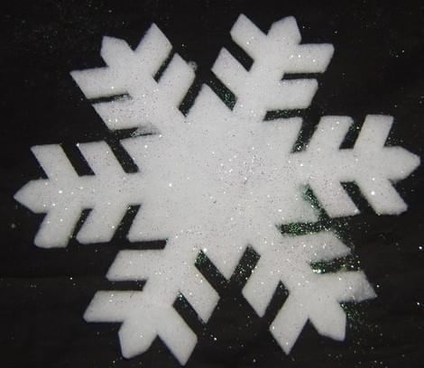 Magic Snow Sneeuwvlok glitter