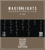 Magic Lights Connectable LED icicle extra set kerstverlichting