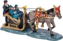 Dickensville Paard met arrenslee