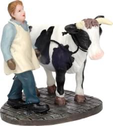 Dickensville Slager met stier