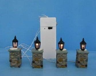Dickensville DV Lamp post