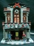 Dickensville Kersthuisje X-Mas gebouw