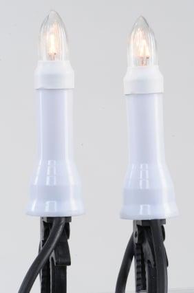 Lumineo Kaarsverlichting op clip
