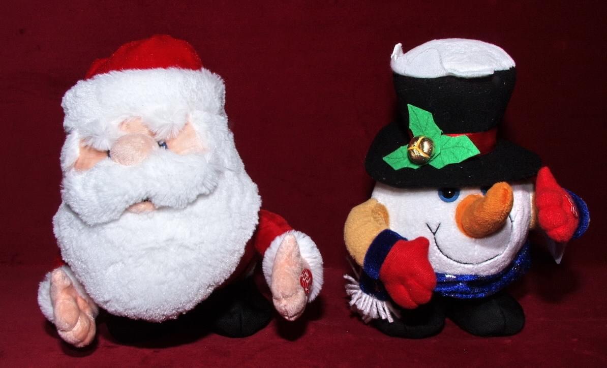 Magic Jollity *Kerstman en Sneeuwman 24cm 2ass