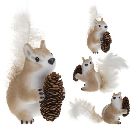 Home & Styling Eekhoorn met dennenappel