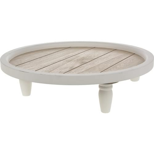 Home & Styling Plateau hout wit