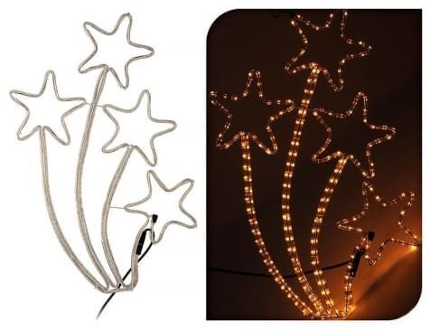 Home & Styling Slangverlichting sterren