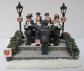 Dickensville Leger des Heils kerstkoor