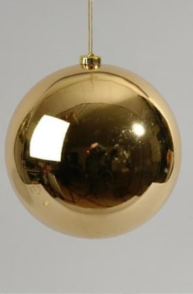 Decoris Kerstbal plastic glans