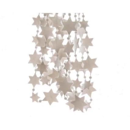 Decoris Kralenketting plastic ster