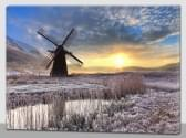 Magic Jollity Art Prints molen LED schilderij