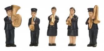 Dickensville Leger des Heils Brassband set 5