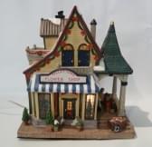 Dickensville Kersthuisje Flower Shop