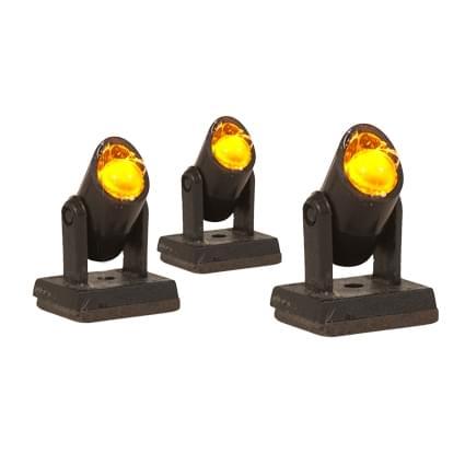 Dickensville Warm white Spot Lightset 3 Lamps
