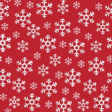Duni Servetten Red Snowflakes