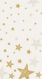 Duni Tafellaken Shining Star Cream
