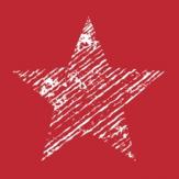 Duni Servetten Starshine Red