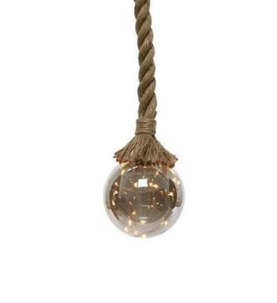 Lumineo Micro Led Bal met Touw 10cm