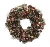 Decoris Gemengde Kerstkrans