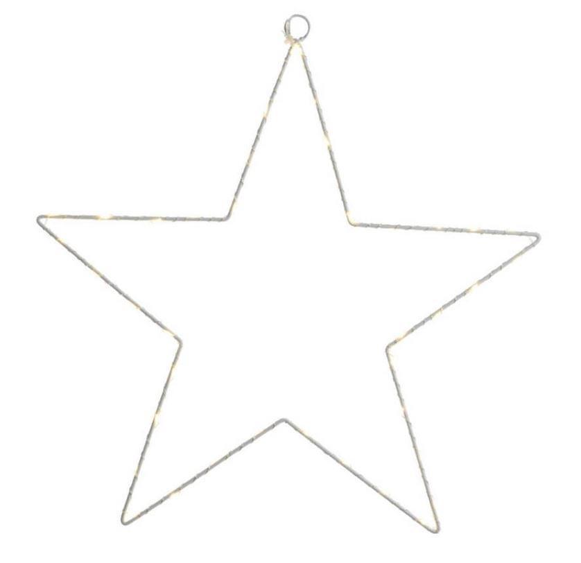 Lumineo Verlichte Ster 58cm