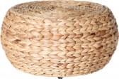 Home & Styling Poef Waterhyacint Laag