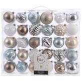 Decoris Kerstbal Plastic Mix