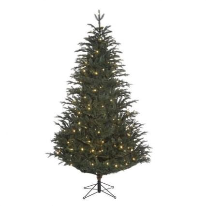 Black Box Frasier kerstboom led blauw 168L TIPS1050 - h140xd102cm hinged 10 years 3 years