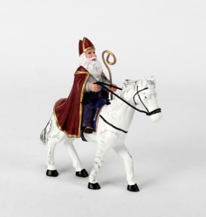 Dickensville Elfsteden Sinterklaas op paard